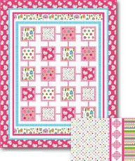 "Simply Sweet ""Girls"" Quilt & Pillow project - lief! Lifestyle"