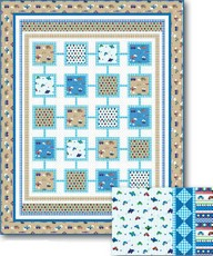 "Simply Sweet ""Boys"" Quilt & Pillow project - lief! Lifestyle"