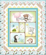 SNUGGLE BUDDIES Panel Quilt Project