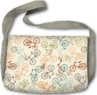 Life...Enjoy the Ride messenger bag project - Tina Higgins