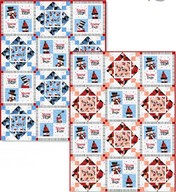 Snow Daze quilt projects - Debra Jordan Bryan