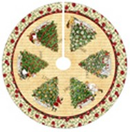 J. Wecker Frisch - Christmas Traditions Tree Skirt or Table Topper