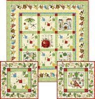 Woodsy Wonder Quilt & Pillow project - Janet Wecker Frisch