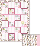 Besties Forever pink quilt project - Sherri Baldy