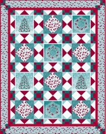 Winter Enchantment quilt project - Bee Sturgis