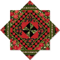 The Christmas Star red/black project - Kensington Studio