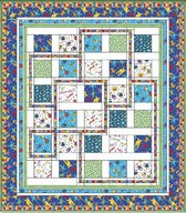 Monster Mash Boys quilt project - Kari Pearson