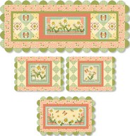 Daisy Garden table set project - Angela Anderson